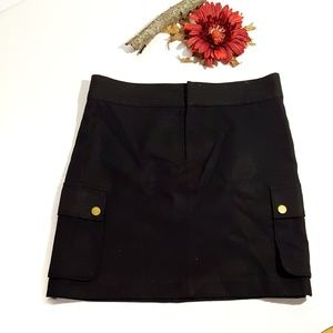 Banana Republic Black Wool Skirt Size 4